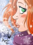 Winter girl by Axel9922