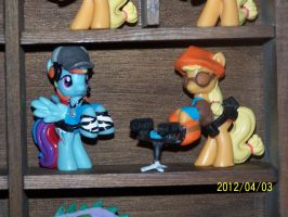 Team Fortress Two Ponies BLUE TEAM by coonk9