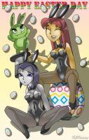 Easter Titans by XJKenny