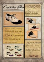 Cadillac Duo Shoes by Gisele-Dessin