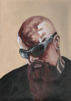 Kerry King - Slayer by dieselboy666