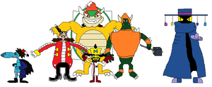 Team Of Video Game Super Villians by boogeyboy1