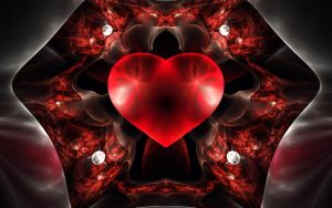 WP Red Heart by Brigitte-Fredensborg
