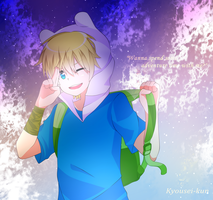 ''Wanna spend some adventure time with me?'' by Kyousei-kun