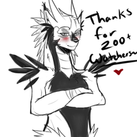 Thanks for 200+ watchers by SidStraws