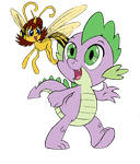 The Wasp and the Dragon - Janet and Spike by edCOM02