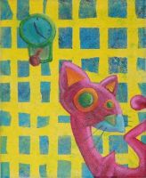 Crazy Cat by estranged-illusions