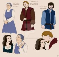 Hobbit OC : Brena Lord Haethorn and Bron by TheLastUnicorn1985