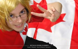 Hetalia World Series - Canada by CarmenMCS
