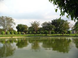 Reflecting Pond by dexter64