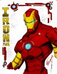 Iron Man-colored by ARC-K-80