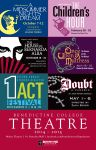 Benedictine College Theatre 2014-15 Season Poster by BigGuido