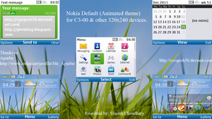 Nokia Default Animated theme by cyogesh56