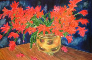 Christmas Cactus by dlemelin
