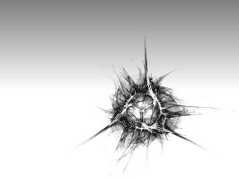 Bullet Hole by GeneAut
