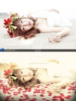 Girl VanSHI Before and After by Hoangvanvan