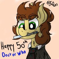 Cedric as the 10th Doctor by Sopada