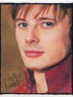 Arthur Pendragon - Oil Pastels by NataliesCourageClub