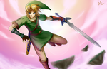 Link - The Timeless Legend by squigi