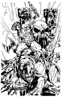 He-Man inks by pycca