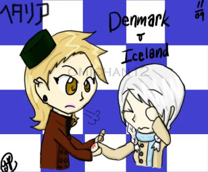 APH + fem Denmark and Iceland by omichan12
