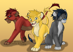 They are LIONZ :O by sarah-echidnahog