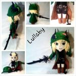 Commission: OC Lullaby 3D Head Minichibi Plush by mihijime