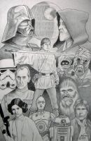 Star Wars gang by Storm01535
