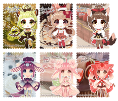 ::Dessert Kemonomimi:: SET PRICE || CLOSED by KokoTensho