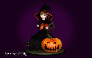 Trick or Treat:  Eye of Newt by Dani3D