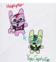 Hoopsiplier and YoyoSepticEye by pandaserules97