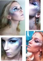 Mermaid Makeup by Reine-Haru