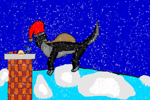 Christmas contest entry by Speckledleaf