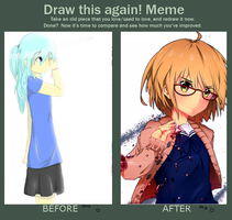 Colouring improvements! (2012 vs 2013 :D) by Yuzas