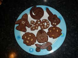 Fathers Day Cookies =) by JessMonsta