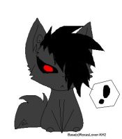 Demon pup chibi by Emo-Wolf-Pup