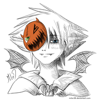 Halloween Town Sora by MiLe-08