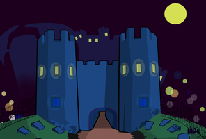 Castle Frightmare  - Remake by pikmin789