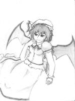 Remilia Scarlet Attempt by Sol-Farrence