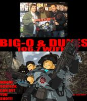 Big-O and Dukes GOW2 Promo Pic by ShoNuff44