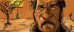 The Ugly Eli Wallach by Parpa
