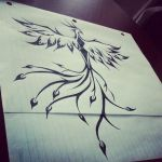 Tribal Phoenix by InkIsMyPassion