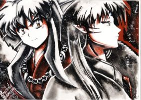 Inuyasha And Sesshomaru by InuyashasRealWife