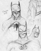 sketch - The Batmen by RyanMcMurry