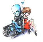 Megamind and Roxanne by sharkie19