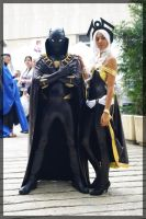 storm and black panther 01 by dabhaid-cridlehian