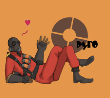 TF2 - Pyro by Solitude6