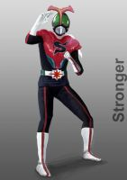 Kamen Rider Stronger by doneplay