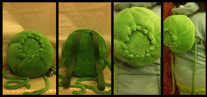 Bulbasaur Backpack by BaileyNickerson