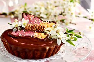 Chocolate tartelettes by kupenska